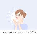 皮膚護理美麗的女性水分1 72652717