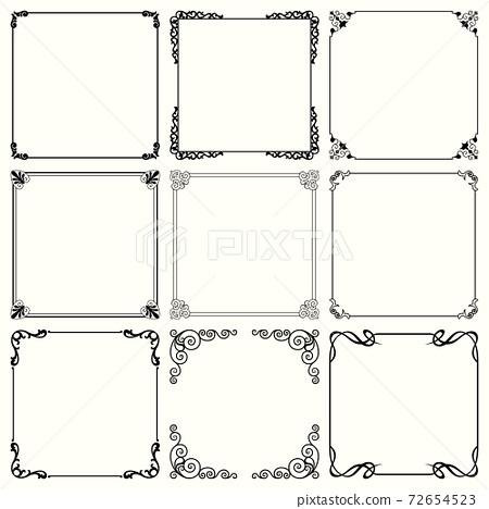 Decorative frames (set 55) 72654523