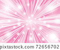 Glittering pink background with concentrated lines 72656702