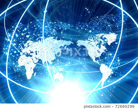Network It Related Materials Stock Illustration 72660296 Pixta