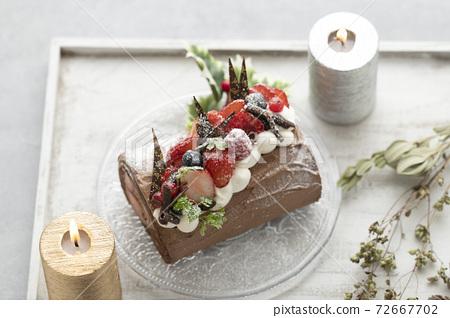 聖誕蛋糕Bushdonel 72667702
