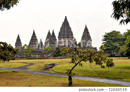 印度尼西亞爪哇的班班坦神廟 72688539
