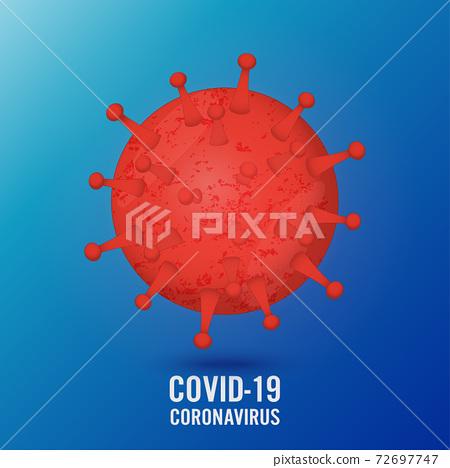 Covid-19 virus novel coronavirus 2019. coronavirus outbreak concept. covid coronavirus infection. Global pandemic alert. Covid-19 outbreak. 72697747