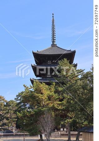 나라 · 고후 쿠지 오층탑 72697749