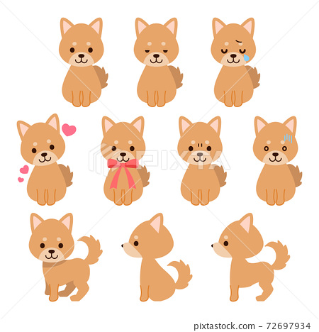 狗的插圖素材:狗的插圖素材 72697934