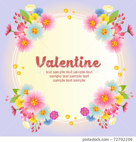 valentine decoration garden flower 72702206
