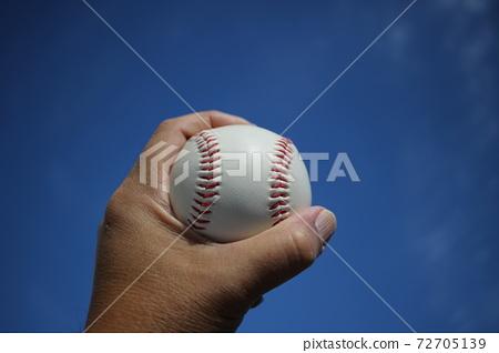 球,握球力,棒球,裸手,球像 72705139