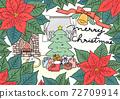 一品紅聖誕節牆博覽會 72709914