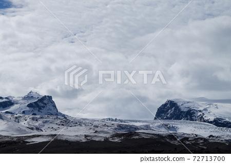 Vatnajokull glacier near Kverfjoll area, Iceland nature 72713700