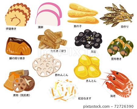新年菜餚(內容) 72726390