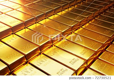 99.9%純金金條 72730521