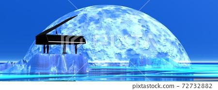 Romantic piano 72732882