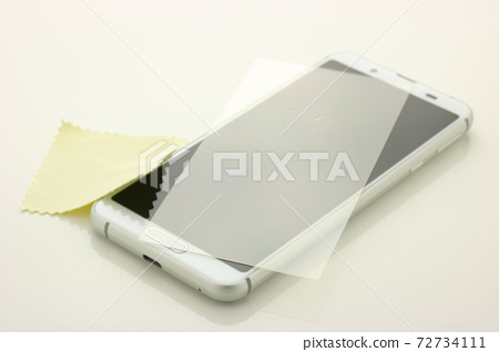 智能手機和保護膜 72734111