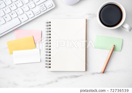 辦公室 筆記本 工作 模型 office table desk オフィス フリーランス 72736539