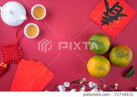 橘子 過年 農曆新年 Tangerine Chinese lunar new year 蜜柑みかん 72736632