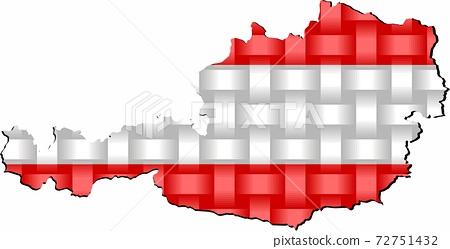Austria Map 72751432