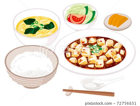 麻婆豆腐套餐的插圖 72756831