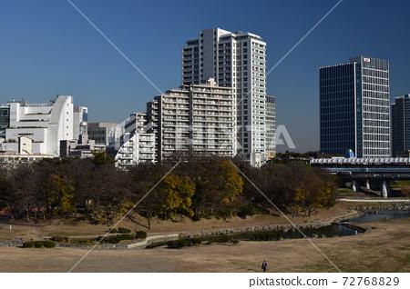 후타 코타 마가와 타마가와 하천 부지 72768829