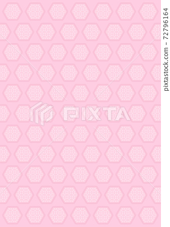 Flower window vertical pink 72796164