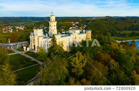 Hluboka Castle in Hluboka nad Vltavou, Bohemia 72800920