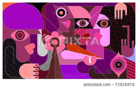 Group of People vector illustration 72828978