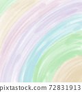 close-up colorful rainbow pastel background on square paper 72831913