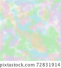 Abstract pastel watercolor background on square paper 72831914