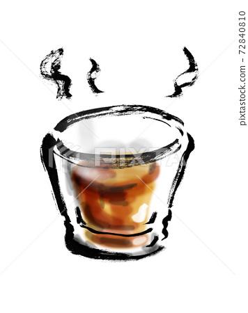 手繪熱威士忌圖 72840810