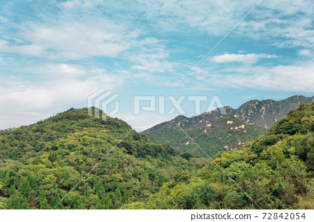 The Great Wall mountain in Beijing, China 72842054