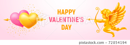 Valentines Day Holiday Banner 72854194