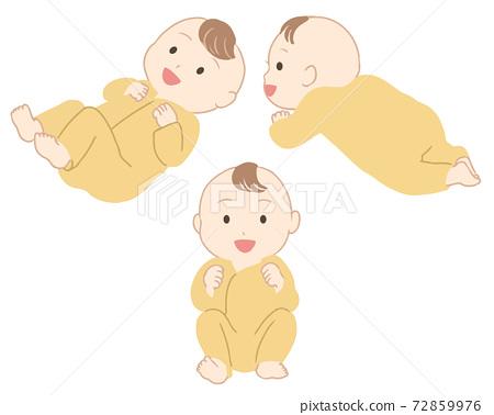 嬰兒衣服的微笑(不行) 72859976