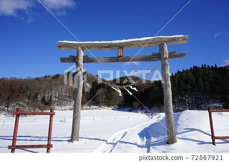 冬野的冬季信仰 72867921