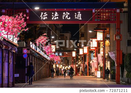 《東京》淺草/晚霍登街 72871211