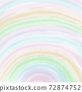 colorful rainbow pastel background on square paper used for romantic artwork 72874752