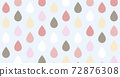 Warm colors colorful drop pattern background image 72876308
