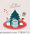 Christmas Illustration 04 72894715