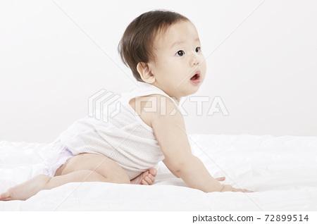 유아,아기,베이비,신생아,어린이,아이,한국인 72899514