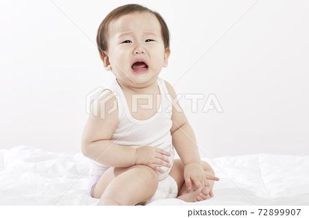 유아,아기,베이비,신생아,어린이,아이,한국인 72899907