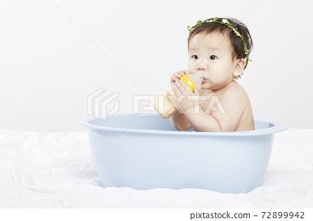 嬰兒,嬰兒,嬰兒,新生兒,兒童,孩子,韓文 72899942