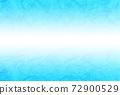 Unryu Washi 01 /淺藍色從中心到頂部和底部變暗的漸變日本紙背景材料水平其他顏色 72900529