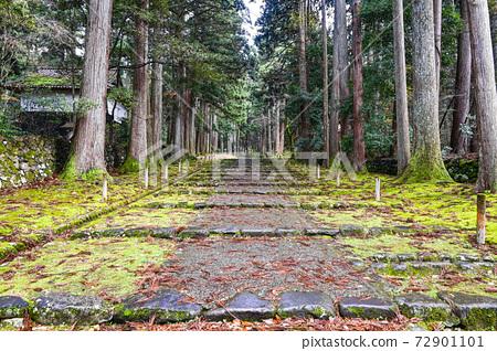 平泉寺 하쿠산 신사의 경계 참배보다 두 도리를 바란다 (후쿠이 현 가쓰 야마시) 72901101