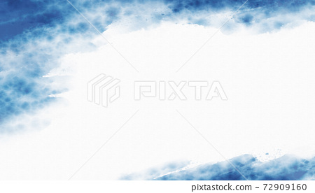 Watercolor texture background on white canvas with copy space 72909160