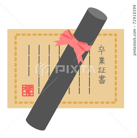 Diploma vector illustration 72918399