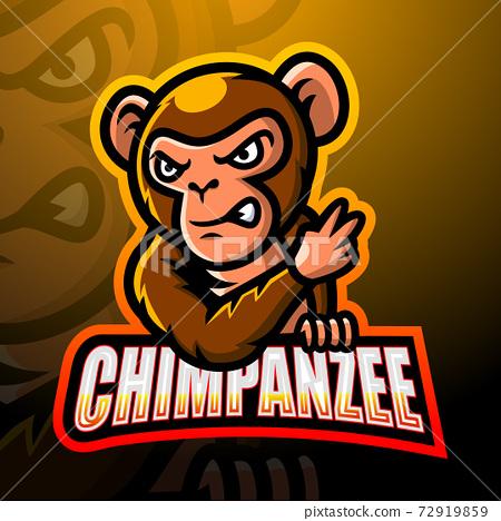 動物 黑猩猩 商標 72919859