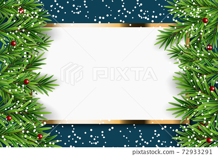 Abstract Holiday New Year and Merry Christmas Background. Vector Illustration 72933291