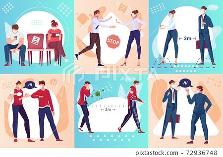 Social Distance Design Concept 72936748