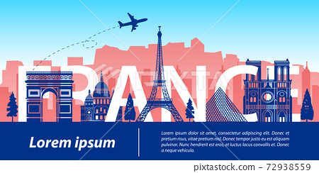 France top famous landmark 72938559
