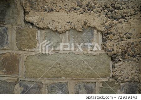 老舊的水泥質感牆面 72939143