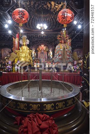 寺廟建築,燈籠,神像,蘇澳南天宮  72946557