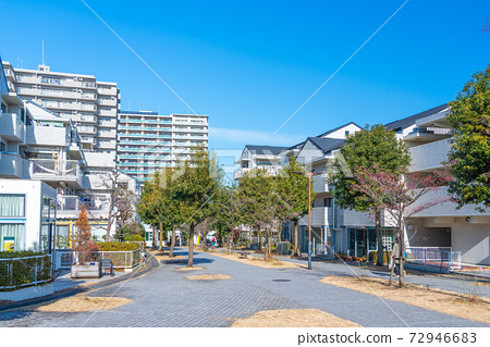 도쿄 살기 좋은 환경이 정비 된 도시 다마 뉴타운 72946683